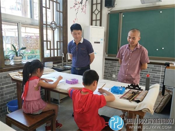山泉小学迎接教育局组织的教学质量综合评价过程考核