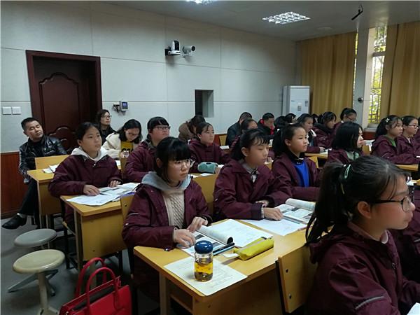 青白江区教研组长优质课展示活动在祥福中学开展
