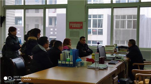 中江县城北中学携手家长关护高三考生