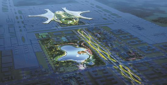 天府国际机场力争明年基本建成