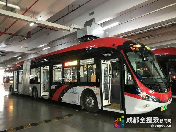2020年底成都公交将全部换为电动车