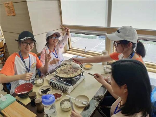 彭州中学实验学校、七中育才金堂分校开启2019赴韩研学之旅