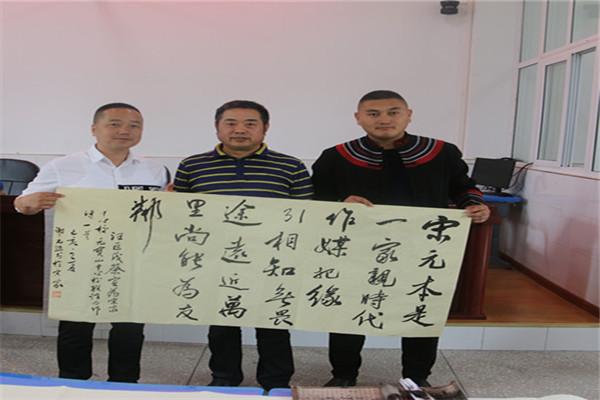 宋家镇中心校与元宝山乡中心校开展结对交流活动