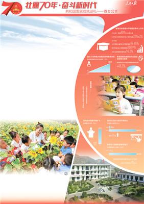 70年教育步履铿锵 亿万孩子共享优质教育