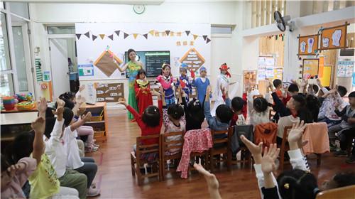 十七幼迎国庆系列庆祝活动:五十六个民族一家亲