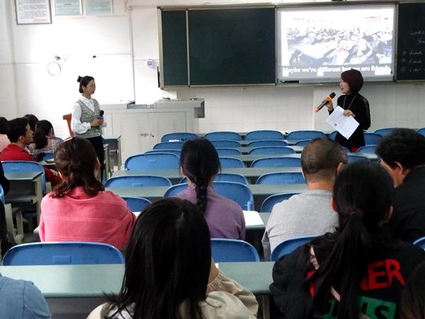 什邡市英语探讨课在北师大什邡附中顺利举行