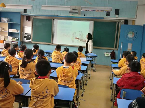 金沙小学四年级一班幸福课堂:我对流感Say Goodbye