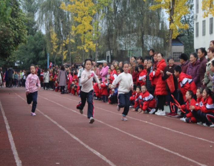 渠县天星二小成功举办第二十三届冬季运动会