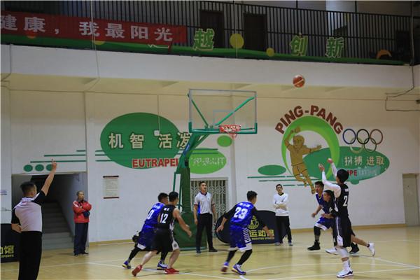 """草小西区参加青羊区第六届""""阳光杯""""教职工篮球比赛"""