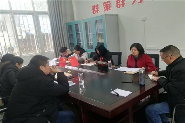 金江小学校迎接江安县师培中心教学常规管理督查