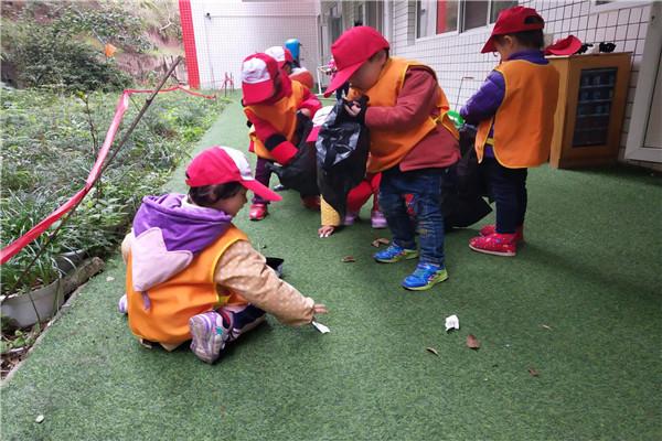 仙临镇中心幼儿园开展创文主题活动