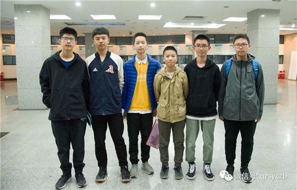 七中实验六名学生获2019年信息学竞赛四川赛区二等奖