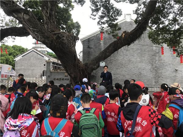 华阳小学学子参观纪念馆 学习爱国主义教育