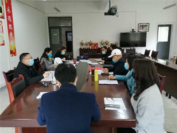 悦来镇学校接受大邑县教育局线上教学工作督查