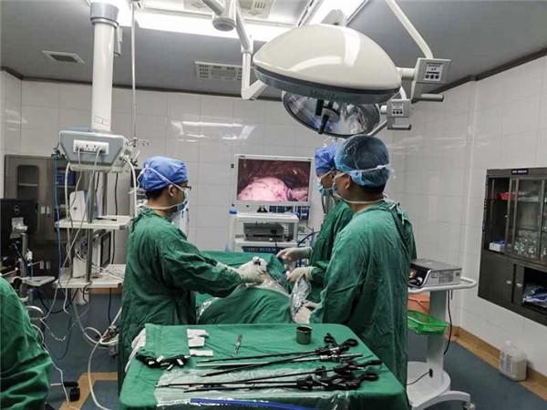 广汉市人民医院成功开展广汉地区首例VATAS RS2切除术(胸腔镜下右肺上叶后段切除术)