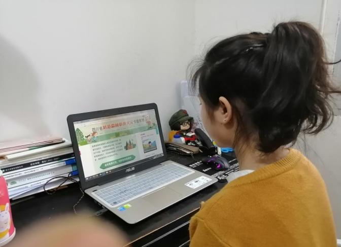 邻水县乘风中学开展了森林防火安全知识宣传活动