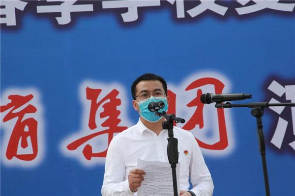 四川天府新区成都直管区教育系统复学防控演练在华阳中学举行