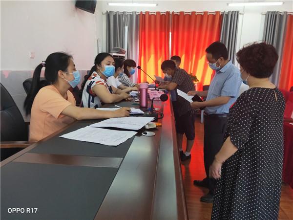 宜宾市教体局领导到高场镇中心幼儿园督查开学复课工作