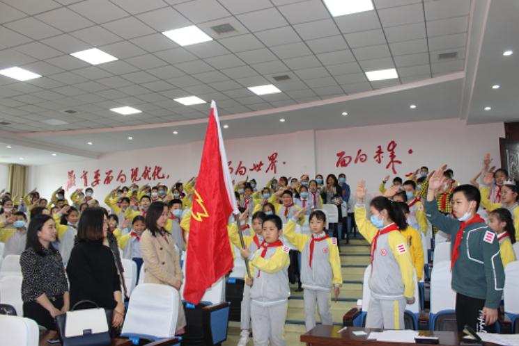 """广安区东方小学举行 2020年全国第23届""""新时代好少年""""主题教育读书活动之演讲比赛"""