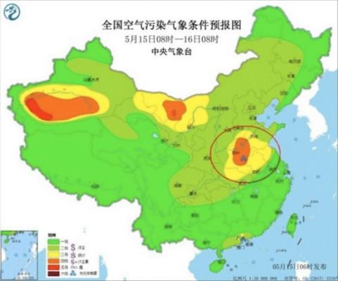注意!四川盆地未来一周白天可能出现臭氧污染