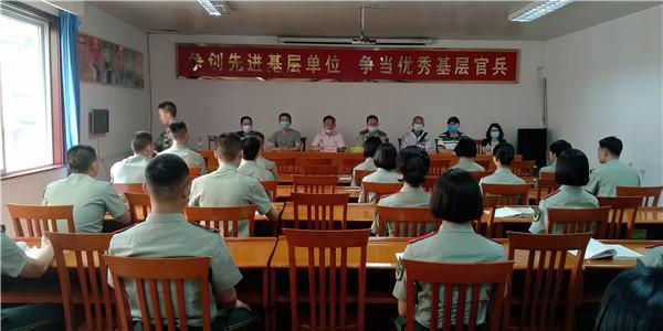 树德实验中学(东区)为四川武警总队参加军考官兵提供文化辅导