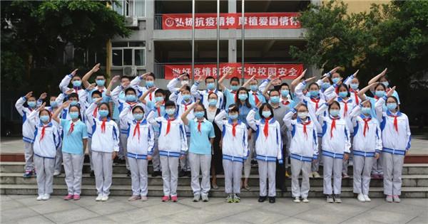 省二中医医院杨文黎走进成都西北中学实验学校讲抗疫故事