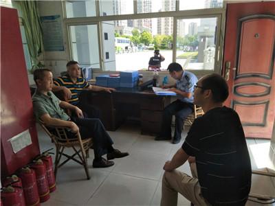 宜宾市公安局治安支队到校检查指导安全工作