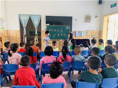 """夕佳山幼儿园开展""""垃圾食品我不吃""""安全教育活动"""