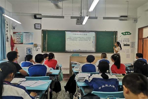 嘉州学校:安全重于泰山,防溺水教育工作常抓不懈