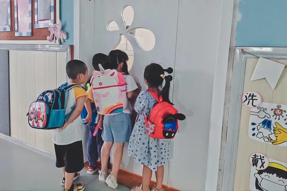 新学期,九江幼儿园萌娃开启校园生活体验