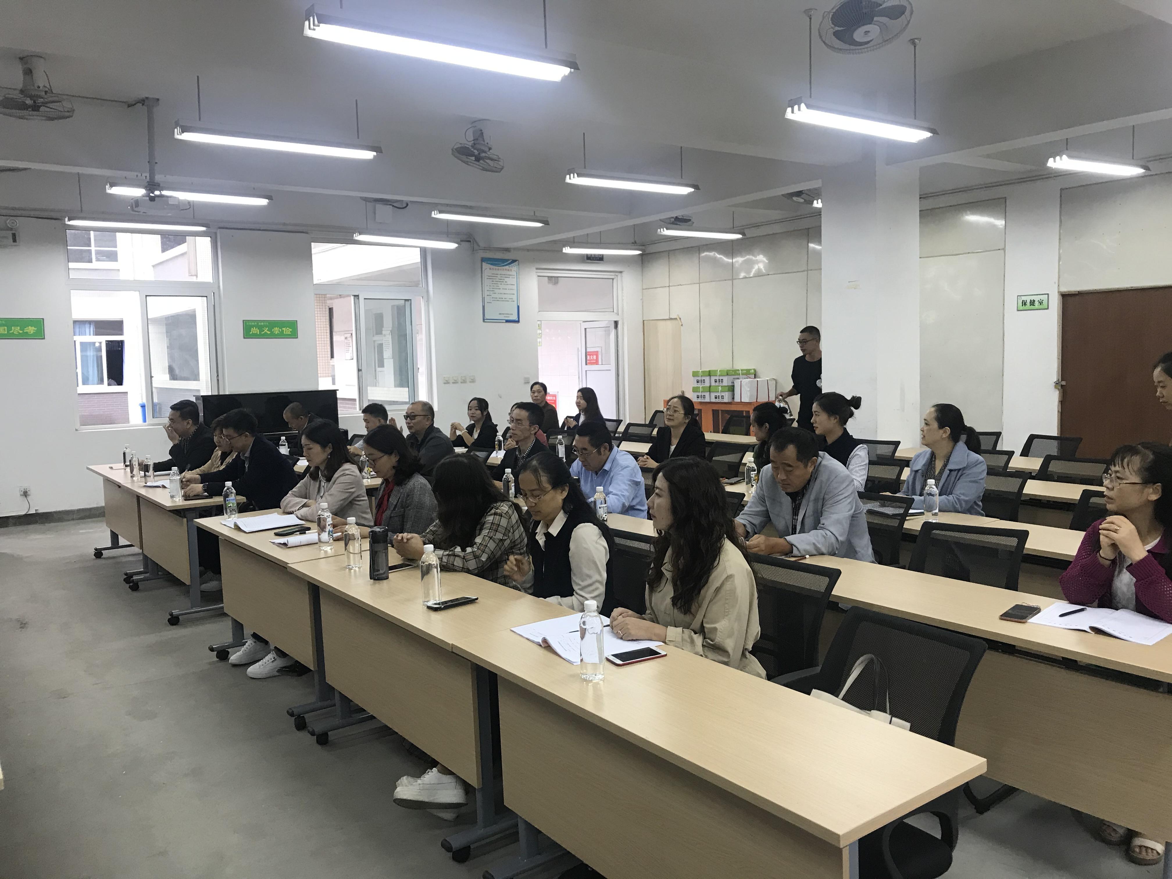 大邑县晋原初级中学与金星学校结对互助,联动发展