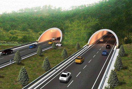 乐西高速全线首座隧道 预计12月20日双线贯通