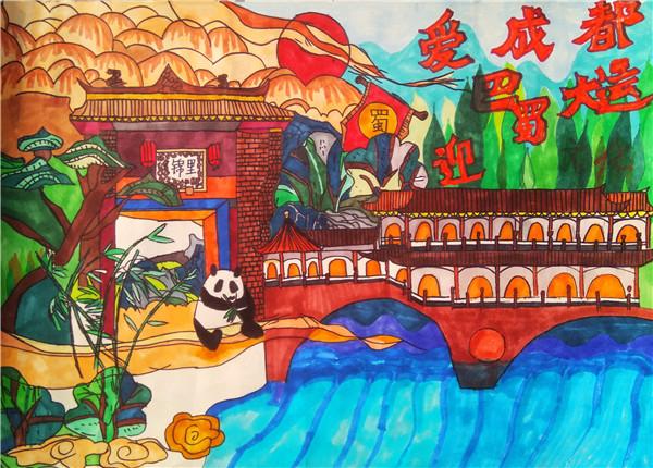 成都十一中2020年校园文化艺术节美术类比赛圆满落幕
