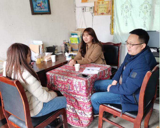 宣汉县三胜中心校督导村小开学工作