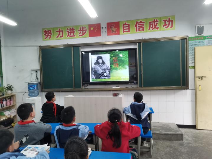 华蓥市双河第三小学:弘扬雷锋精神 开展志愿服务