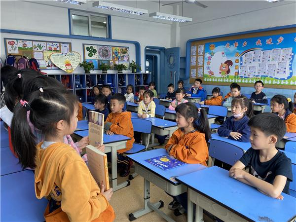 打造书香校园 金沙小学一年级10班学生在阅读中收获成长