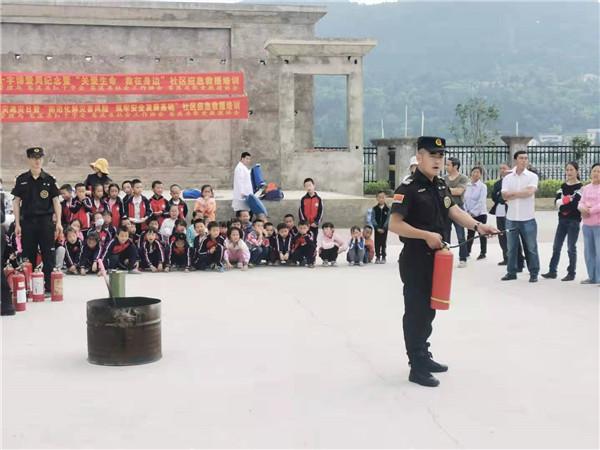 消防演练、救护知识培训、灭火演练……回水小学把好校园安全关