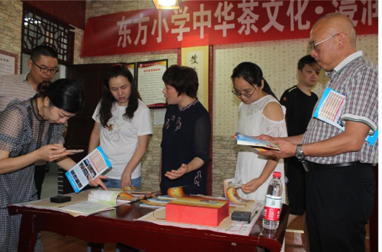 江油市胜利街小学到广安区东方小学参观交流